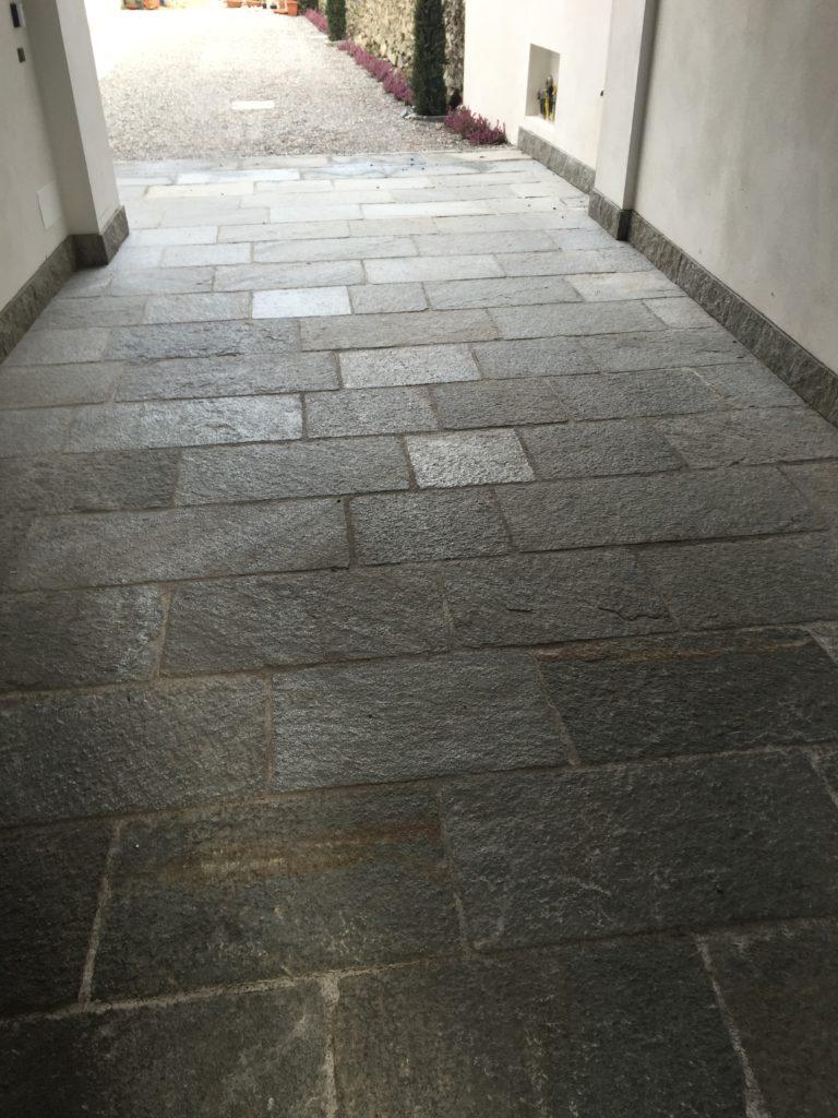pavimentazione portico