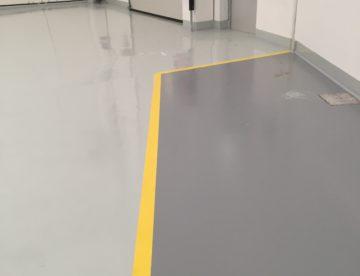 pavimentazione continua in resina