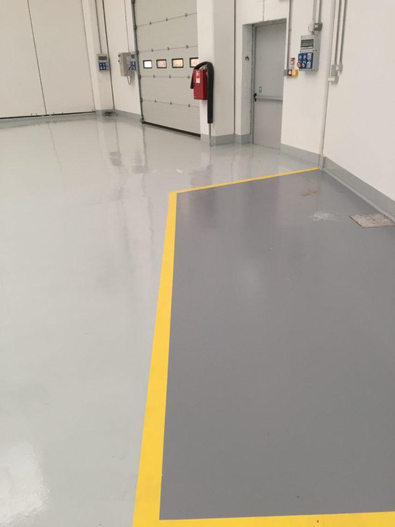 intarsio pavimento industriale