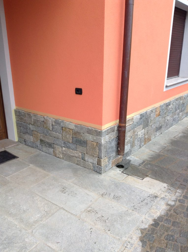 rivestimento pareti esterne